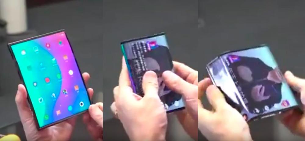 #快讯#传小米屏幕左右双折手机,将于今年第二季预售价格999美元