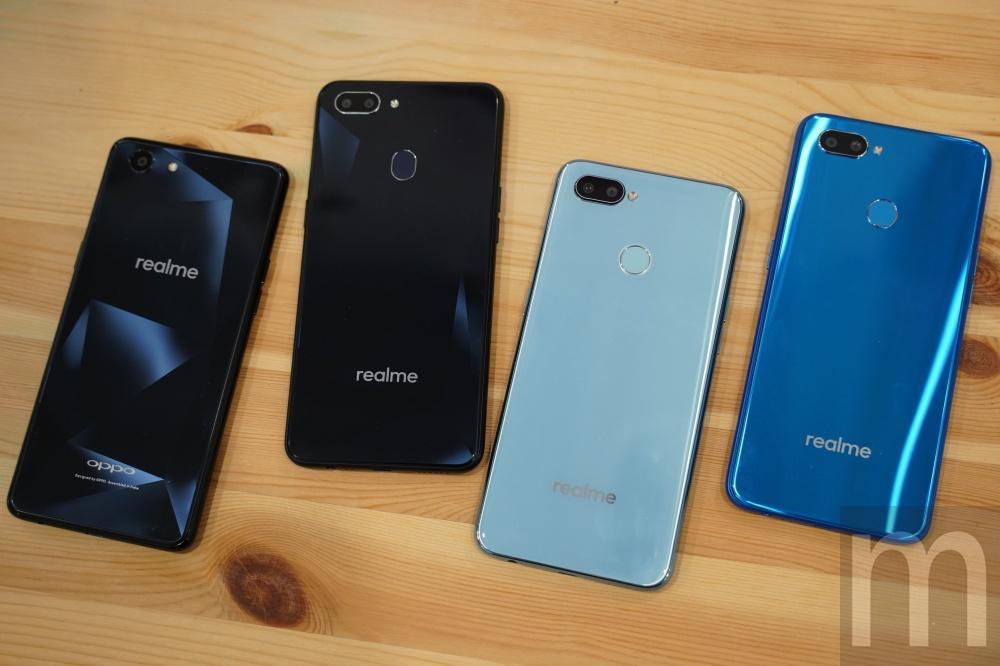 #快讯#OPPO旗下realme品牌手机预计5月台湾发售